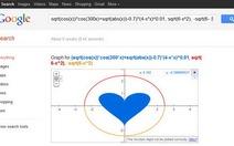 Phép toán tình yêu trên Google