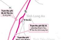 Từ 25-2, thu phí đường cao tốc TP.HCM - Trung Lương