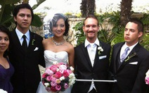 Đám cưới ngọt ngào của chàng trai không tay không chân