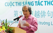 Cuộc thi Sáng tác thơ haiku Việt - Nhật lần 3: Cuộc rước thơ