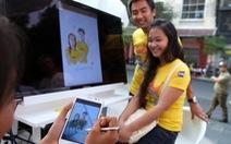 Bạn trẻ nói lời yêu qua Samsung Galaxy Note