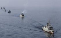 Tàu chiến Iran cập cảng Syria, Iran tập trận