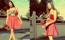 Váy ngắn, giày cao gót cho chân dài