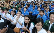 Hàng ngàn bạn trẻ TP.HCM ra quân Tháng thanh niên