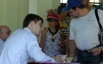 Bỏ phiếu bầu cử tổng thống Nga trên đất Việt