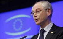 Van Rompuy tái đắc cử chủ tịch Hội đồng châu Âu