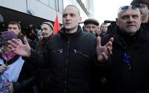 Nga bắt một lãnh đạo biểu tình chống Putin