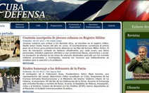 Cuba mở trang web đầu tiên về quốc phòng