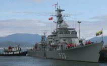 Tàu khu trục Myanmar thăm Đà Nẵng