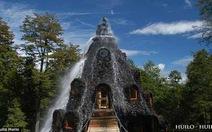 """""""Khách sạn núi lửa"""" ở Chile"""