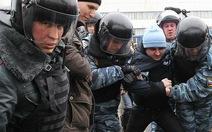 Biểu tình ở Matxcơva, hàng chục người bị bắt