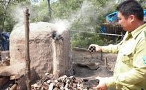 Lò than bủa vây vườn quốc gia Mũi Cà Mau