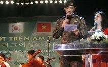 Bi Rain dẫn chương trình tại Hà Nội