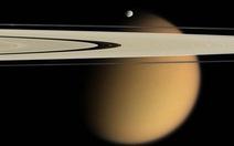Mặt trăng Titan sao Thổ: 1.000 năm một trận mưa