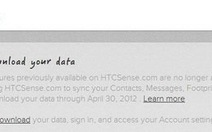 HTC đóng cửa dịch vụ lưu trữ trực tuyến