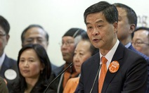 Trung Quốc chính thức bổ nhiệm trưởng đặc khu Hong Kong