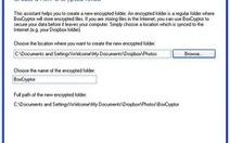 Bảo mật dữ liệu trên DropBox với BoxCryptor