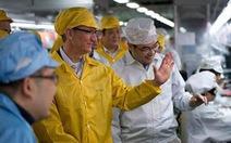 Apple giảm giờ làm việc cho công nhân Trung Quốc