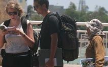 Hàng rong Đà Nẵng vẫn chèo kéo du khách