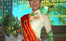 """Sinh viên 19 tuổi đăng quang """"Người đẹp xứ Dừa"""""""