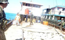 Tàu Philippines, Trung Quốc chạm trán trên biển Đông