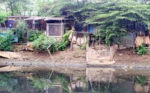 Lấn chiếm sông Nhuệ