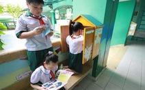 Thư viện ngoài sân trường