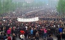 Biểu tình lớn ở Trùng Khánh