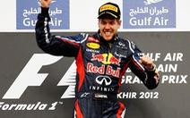 Sebastian Vettel thắng chặng đầu tiên mùa giải 2012