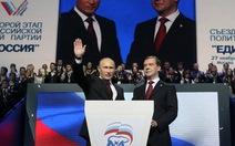 Putin đề cử Dmitry Medvedev làm chủ tịch đảng