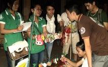 Gây quỹ giúp trẻ em nạn nhân da cam