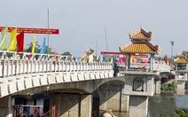 Thông xe kỹ thuật cầu Bạch Hổ qua sông Hương