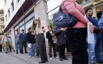 Tây Ban Nha thất nghiệp cao kỷ lục