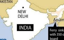 Chìm phà ở Ấn Độ, 105 người chết