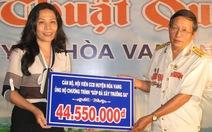 Hội Cựu chiến binh huyện Hòa Vang ủng hộ gần 45 triệu đồng