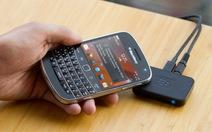 """BlackBerry Music Gateway: """"đồ chơi"""" cho """"dâu đen"""""""