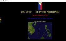 Hacker Philippines tiếp tục hạ 14 website Trung Quốc