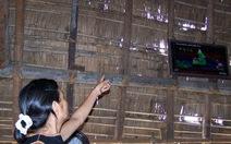 Nhà rông - thay mái tranh bằng mái tôn
