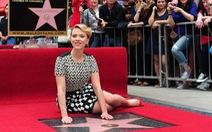 Scarlett Johansson được vinh danh trên Con đường danh vọng