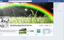 Lên Facebook ôn thi đại học