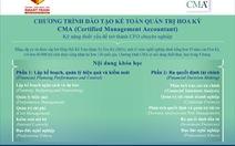 """Hội thảo giới thiệu khóa đào tạo """"Kế toán quản trị Hoa Kỳ - CMA"""""""
