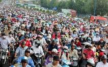 Đường Trường Chinh tiếp tục kẹt xe nghiêm trọng