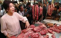 Khi bà thủ tướng đi chợ
