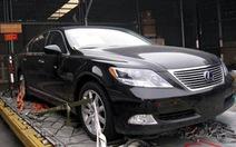 Tái xuất 16 xe Lexus nhập khẩu trái quy định