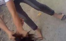 Thêm một clip nữ sinh đánh bạn dã man