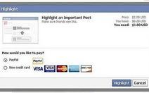 Facebook bắt đầu thử nghiệm thu phí