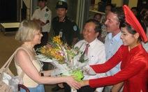 300 khách Nga đến Đà Nẵng bằng đường hàng không