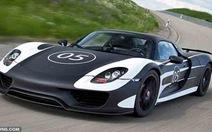 """Porsche hé lộ siêu xe """"xanh"""""""