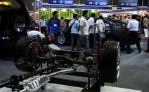 Doanh nghiệp phụ trợ TQ áp đảo Saigon Autotech 2012