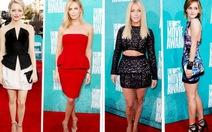 MTV Movie Awards 2012: rạng rỡ đầm ngắn